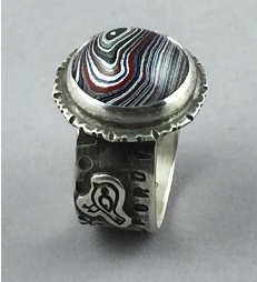 Fast and Fabulous Fordite Ring